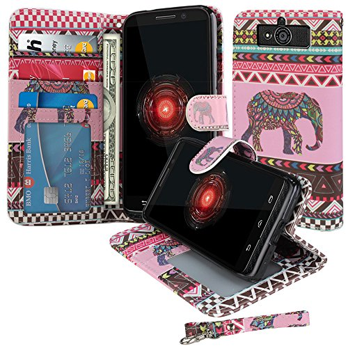NextKin Motorola Protector Kickstand Elephant