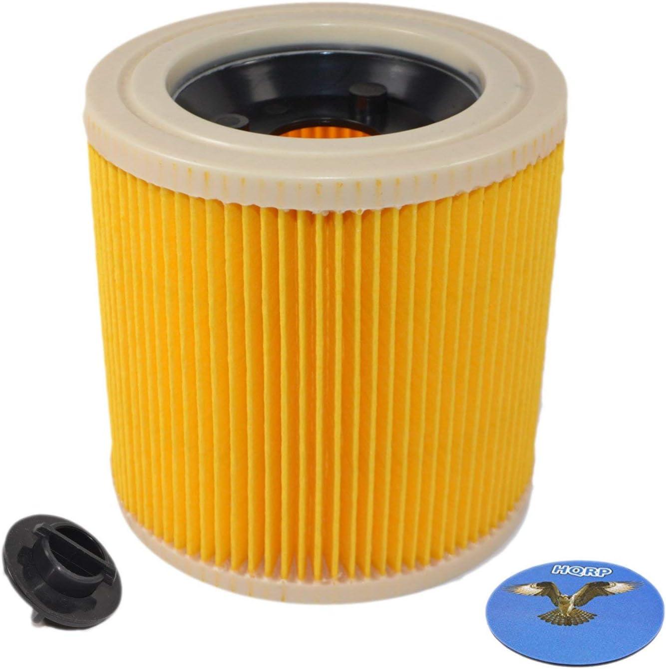 WD 2 WD2 HQRP Filtre /à cartouche pour K/ärcher 6.414-552.0 6.414-552 64145520 Remplacement pour K/ärcher SE 4000 WD3 HQRP Sous-verre WD 3 s/éries Aspirateurs sec//humide