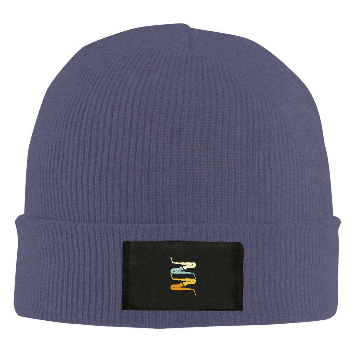 LRHUI Saxophone Winter Knitted Hat Warm Wool Skull Beanie Cap