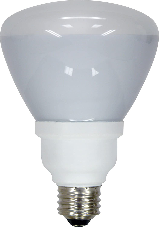 GE Lighting 80893 Energy Smart CFL 15-Watt (65-watt replacement) 750-Lumen R30 Floodlight Bulb with Medium Base, 1-Pack