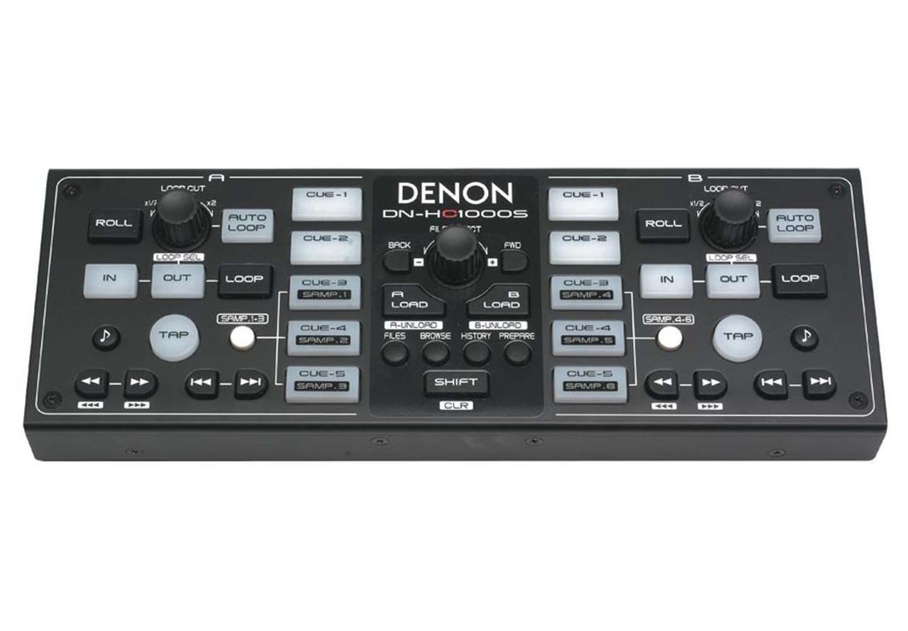 Denon DN-HC1000S - Serato Scratch Live Sub Controller Black by Denon