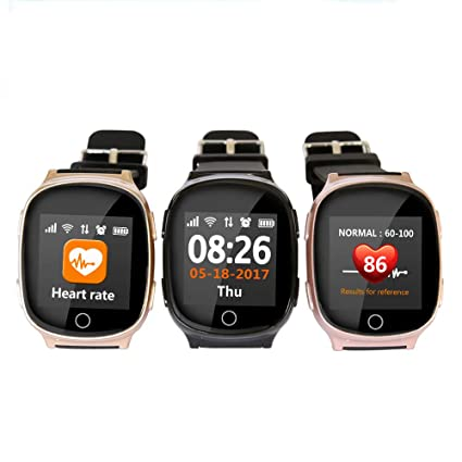 Amazon.com: WTGJZN New D100 Smart Watch GPS+LBS+WiFi ...