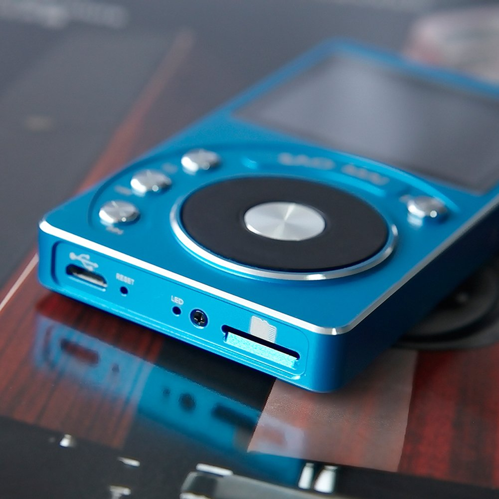 SaoMai SM4 32GB High Resolution DAC Lossless Portable MP3 Player DSD HIFI Music Player Blue by Ohlees® (Image #4)