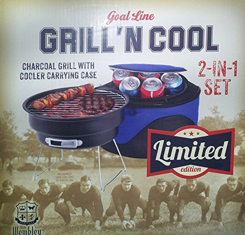 Wembley Goal Line Limited Edition Grill 'N Cool Charcoal ...