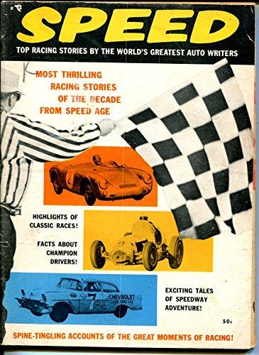 Speed 1957-Indy cars-Bob Scott-LeMans-track roadsters-Duane Carter-VG