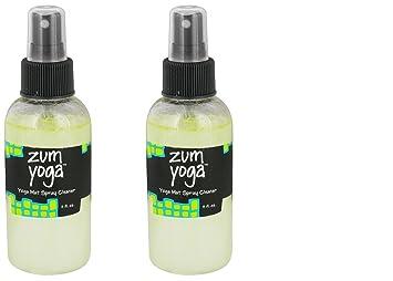 Zum Añil silvestre Yoga Mat limpiador en spray 4 oz. Set de ...