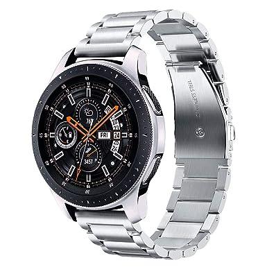 v-moro para Gear S3 Frontera/Classic Reloj Banda, 22 mm ...