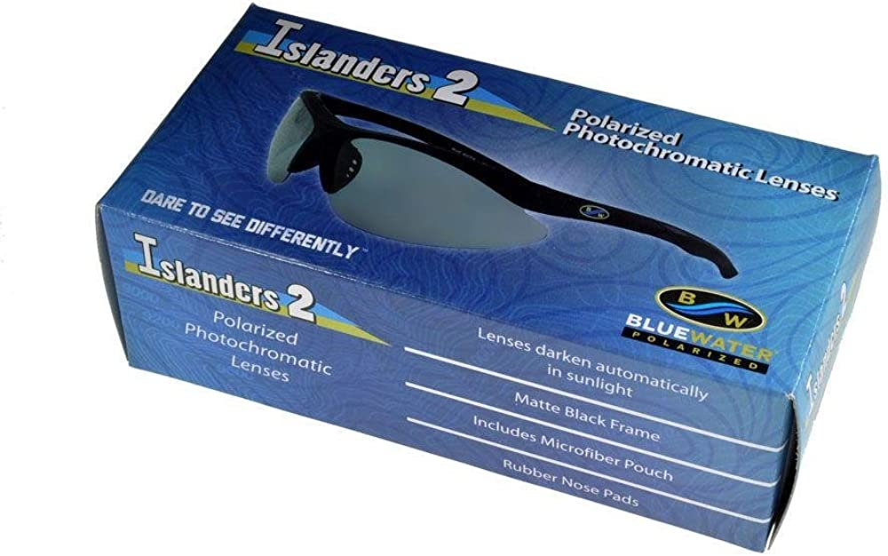 Glare Blocking Fishing Gasses And Free Storage Pouch Bluewater Polarised UV400