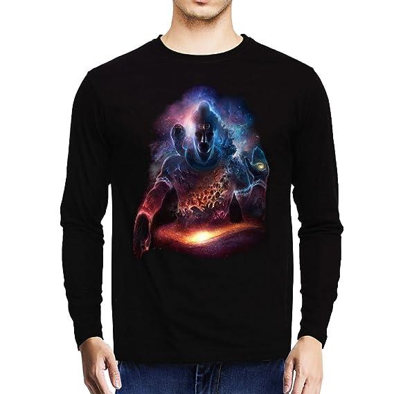 2c779f5bf Baklol Men s Round Neck Printed Full Sleeves Printed T-Shirt(Lord ...