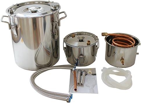 Alambic (acero inoxidable, el Ron distillateur, 30 L: Amazon ...