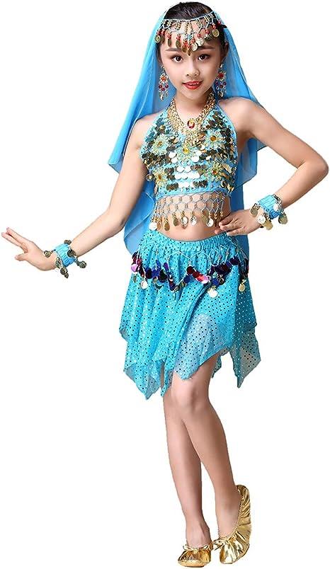 Maguun Disfraz de Danza del Vientre de la Princesa árabe India ...