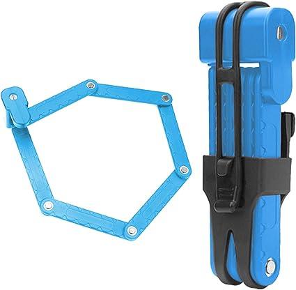 Faltbares Fahrradschloss mit 3 Schlüsseln Kabelschloss für Mountainbike E-Bike