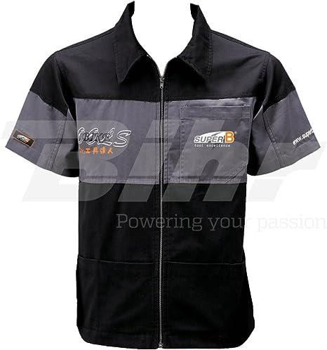 SUPER B - Camisa Mecanico Super B L - Ref Tb-1305-L: Amazon.es: Coche y moto
