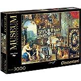 Clementoni - Puzzle de 3000 piezas, Great Museum, diseño Jan Brueghel: El Sentido De La Vista (335428)