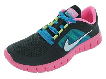 best value 483d0 cce9f Nike Junior Girl s Free Run 3 Running Shoe SS13  Night Stadium Polarized  Pink 4.5