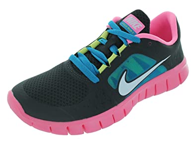 4fe9348bd55b9 Image Unavailable. Image not available for. Colour  NIKE Free Run 3 Junior Running  Shoes ...