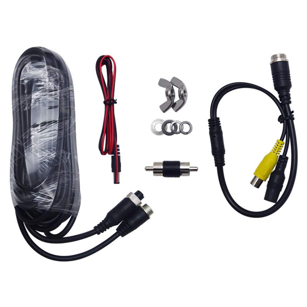 C/ámara de luz de Freno para Ducato Boxer Jumper BEESCLOVER HD, visi/ón Trasera Color Rojo