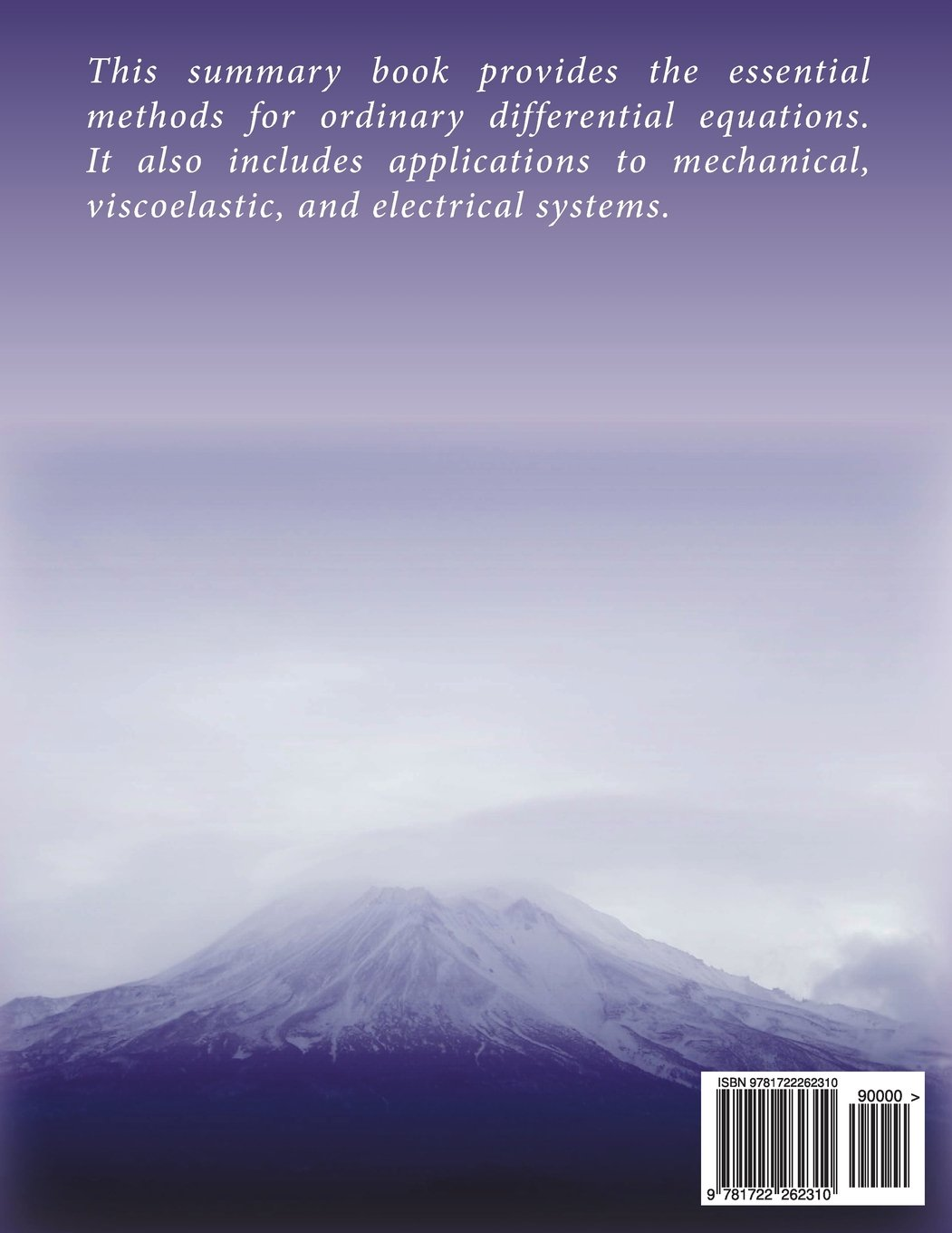 A Summary of Ordinary Differential Equations: Aamer Haque: 9781722262310:  Amazon.com: Books