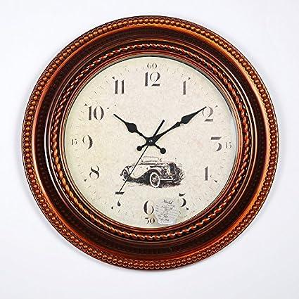 Los relojes de pared 2016 nuevo estilo continental relojes antiguos de pared cartas país nórdico moda