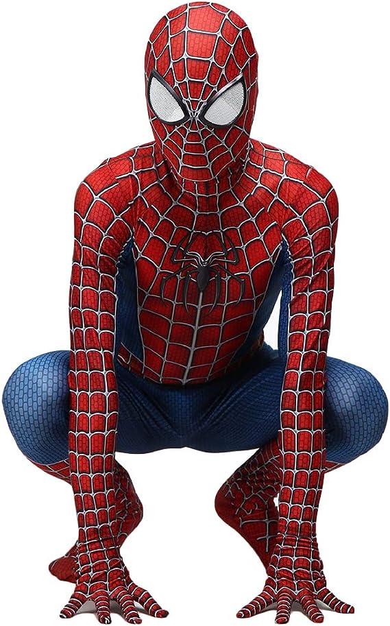 QWEASZER Traje clásico de Peter Parker Traje de hombre araña ...
