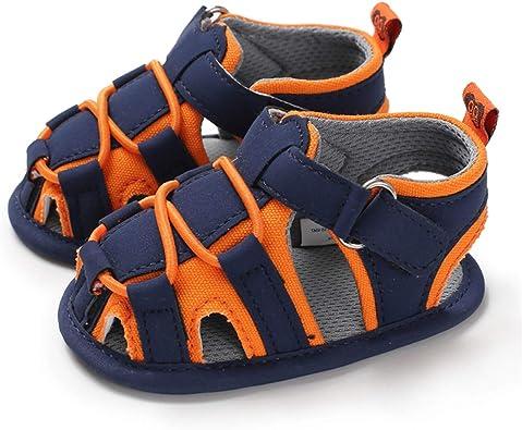 BENHERO Infant Baby Boys Girls Sandals Soft Sole Non Slip Toddler Prewalker Crib Summer Outdoor Walking Shoes
