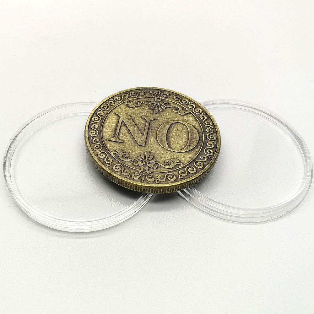 Xinzhi Sammlung Münze Gedenkmünze Schmuck Münze Emulation Runde Ja