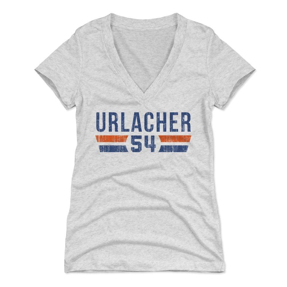 870b07f1 500 LEVEL Brian Urlacher Women's Shirt - Vintage Chicago Football Shirt for  Women - Brian Urlacher Font