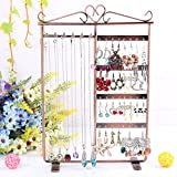 Multi-functional Jewelry Holder Earring Display Props Pedestal Chain Bust Standwomen Lady Girl Beauty