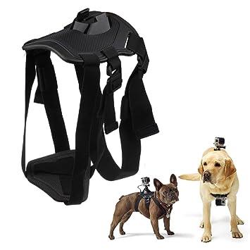 A-szcxtop mascota perro arnés cinturón de correa de pecho espalda para control remoto correa para la muñeca para GoPro Hero 4/3 +/3 Deportes cámara ...