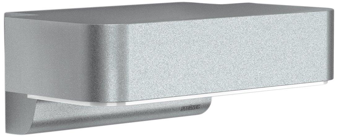 Steinel Außenlampe L 800 LED iHF anthrazit, 10 W, 440 lm, LED Wandlampe mit 160° Bewegungsmelder, max. 5 m Reichweite 035747