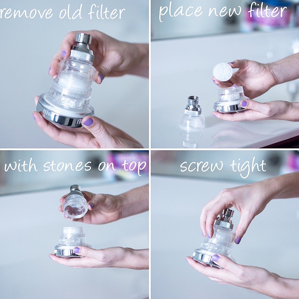 Third Gear Booster Shower head Adjustable Pressure Handheld home Bathroom Pressurized Multi-Function