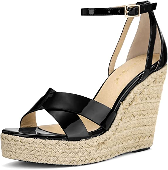 cb9f7581b64 Women's Open Toe Espadrille Wedge Sandal