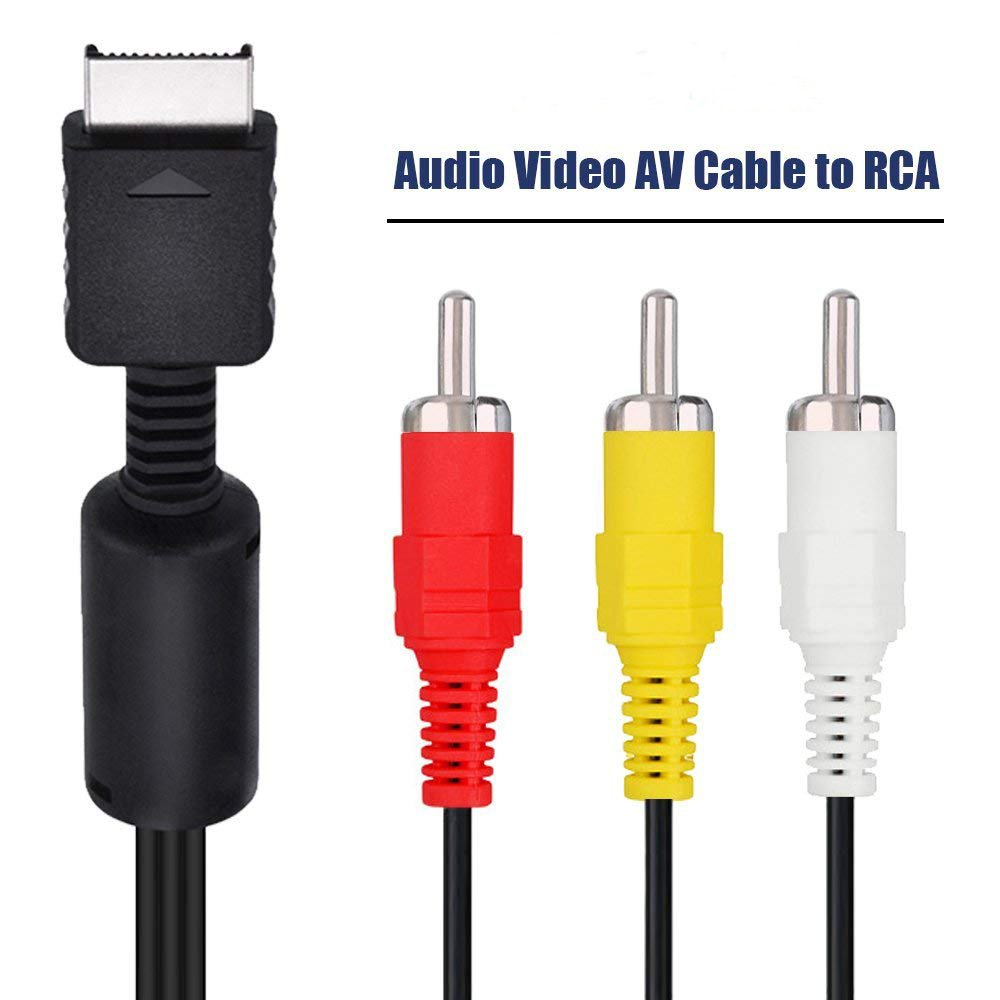 Amazon.com: Trenro AV to RCA Cable Compatible with Playstation/PS2/PS3/PSX:  Computers & Accessories