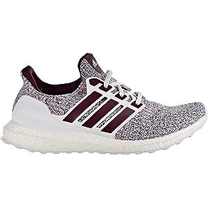 b7530780a8 Amazon.com | adidas Ultraboost Men's Shoes Cloud White/Maroon ee3705 ...
