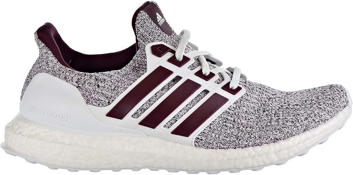 7509022cf adidas Ultraboost Men s Shoes Cloud White Maroon ee3705 (9.5 D(M) US