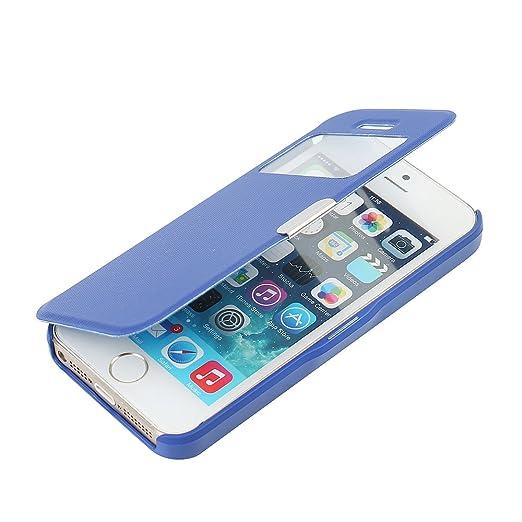 35 opinioni per Cover iPhone SE, Cover iPhone 5s, Cover iPhone 5, MTRONX Custodia Case Finestra