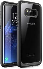 SUPCASE Funda Samsung Galaxy S8+ Plus, Unicorn Beetle Style Premium Hybrid Funda Protectora Transparente para Galaxy S8+ Plus 2017 Release (Negro)
