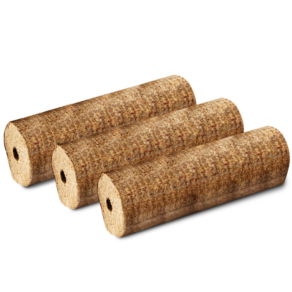 X1 EXTRA LARGE THE LOG HUT® FUEL LOGS (2KG/LOG!) - For a Long Lasting Fire. Stoves, Open Fire, Pits etc - Comes with THE LOG HUT® Woven Sack. Pits etc - Comes with THE LOG HUT® Woven Sack. The Chemical Hut
