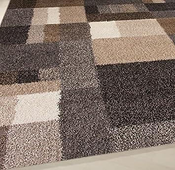 Designer Teppich Hochflor Wohnteppich Moderner Wohnzimmer Wohnzimmerteppich Lufer Hochflorteppich Mit Muster