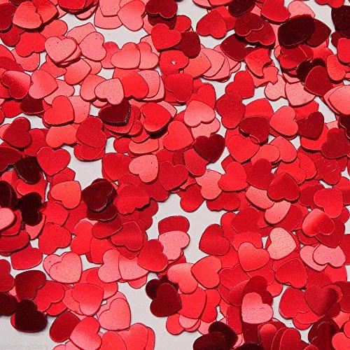 Tanday Hearts Confetti - Red