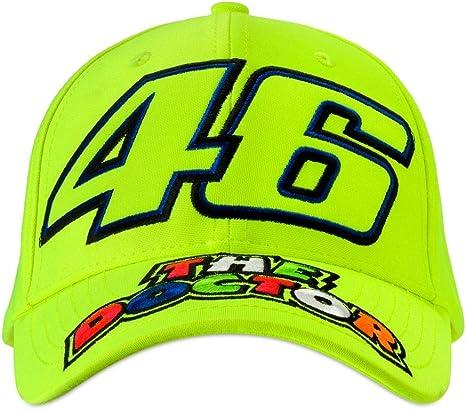 Valentino Rossi Vr46 Classic-46 The Doctor, cap Hombre, Amarillo ...