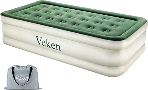 Amazon.com: Veken - Colchón de aire con bomba incorporada ...