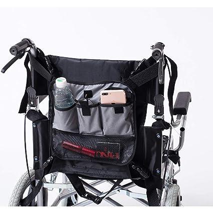 QEES GJB179 - Bolsa para silla de ruedas ajustable, bolsa de transporte resistente, accesorios