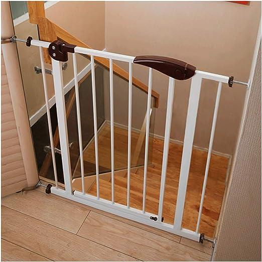 YONGYONG-Guardrail Barras de Seguridad para niños sin Perforaciones para escaleras, Barrera Protectora para bebés, Valla Protectora para bebés y escaleras de Escalada para bebés de 77-151 cm: Amazon.es: Jardín