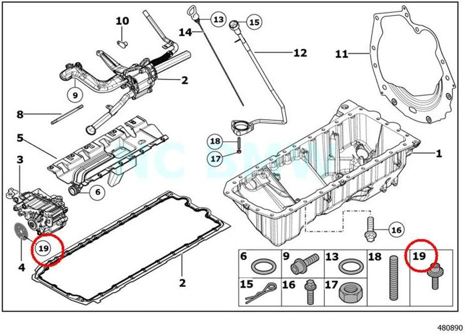 BMW Genuine Torx Screw