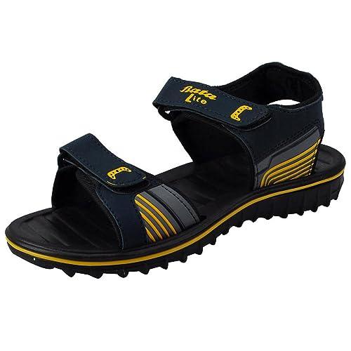 Buy BATA Men 861-8168 Yellow Sandals(45