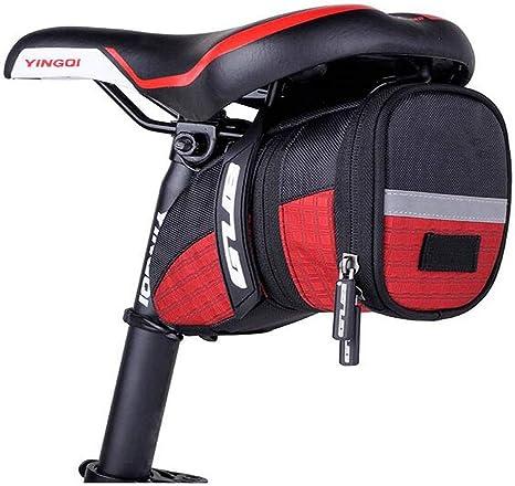 YNuo - Bolsa para sillín de Bicicleta, Plegable, para Bicicleta de ...