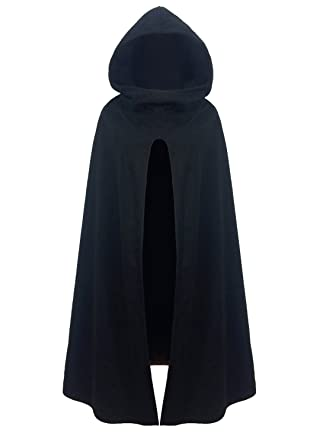 a7e4ab21d FUTURINO Women's Winter/Autumn Gothic Hooded Open Front Loose Cape Coat  Outwear Jacket Cloak