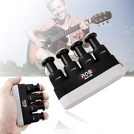 Guitarra portátil Bajo Piano Ejercitador de dedos de mano Tensión ...