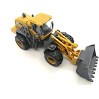 iVee international™ Friction Powered Unbreakable Plastic Construction Vehicles Pull Back Toy for Children Construction Toy New Bulldozer